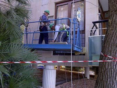 Rehabilitación de fachadas y trabajos en altura