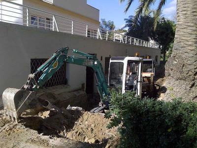 desmontes vaciados demoliciones zanjas